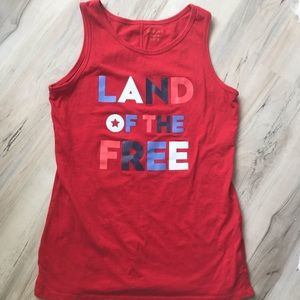 ☘️ 2 for $15 Land of the Free Tank